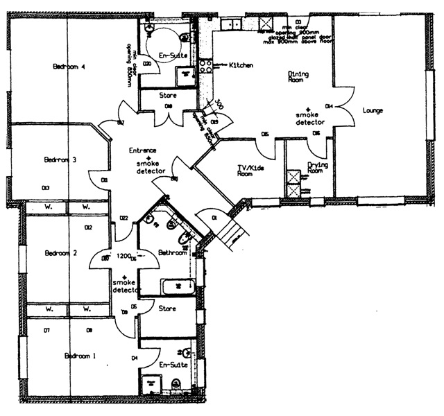 Drumboy Lodge Floor Plan
